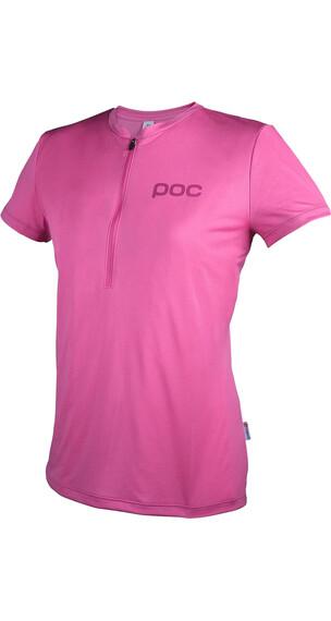 POC W's Trail Light Zip Tee Actinium Pink